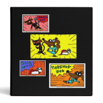 Midge Superhero Comic Panels Binder