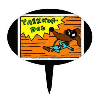 Midge TAEKWON-DOG Cake Topper