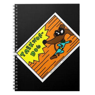 Midge TAEKWON-DOG Notebook
