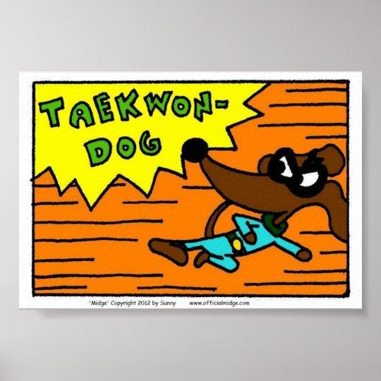 Midge TAEKWON-DOG Print