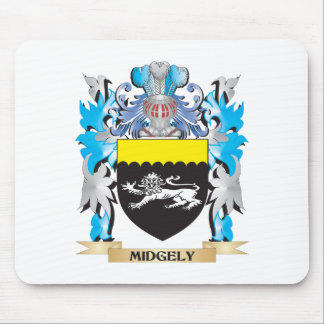 Midgely Coat of Arms - Family Crest Mouse Pad