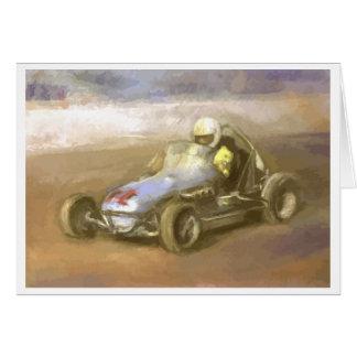 Midget Racer Card
