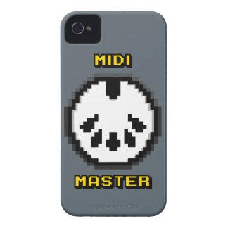 Midi 8bit principal Chiptunes Funda Para iPhone 4 De Case-Mate