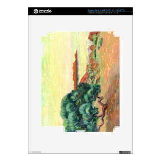 Midi Landscape, 1898 (oil on canvas) Decal For iPad 3