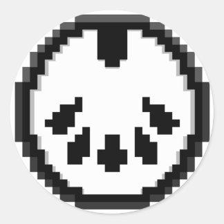 Midi Master 8bit Chiptunes Classic Round Sticker