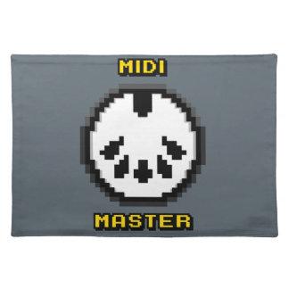 Midi Master 8bit Chiptunes Cloth Placemat