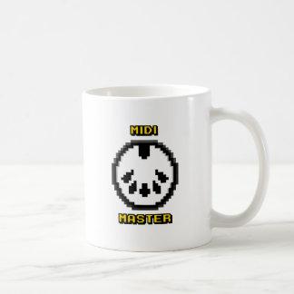 Midi Master 8bit Chiptunes Coffee Mug