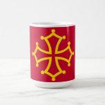 Midi Pyrenees flag france country french region Mugs