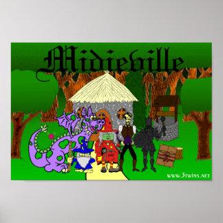 Midieville Poster