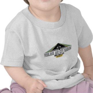 Midland Bay City Saginaw MI - Airport Tee Shirt