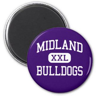 Midland - dogos - estudiante de primer año - Midla Imán Redondo 5 Cm