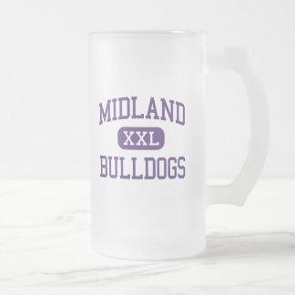 Midland - dogos - estudiante de primer año - taza de cristal