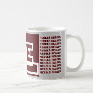 Midland Lee Rebel Football Coffee Cup