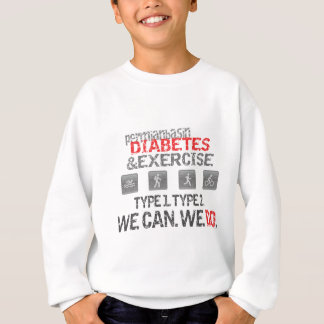 Midland-Odessa-Permian Basin Diabetes & Exercise Sweatshirt