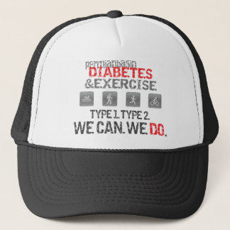 Midland-Odessa-Permian Basin Diabetes & Exercise Trucker Hat