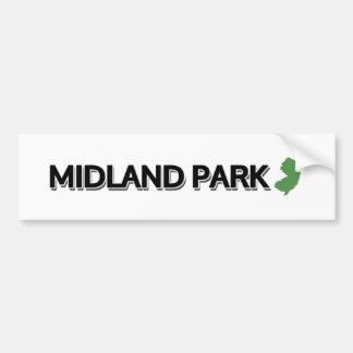 Midland Park, New Jersey Bumper Sticker