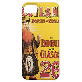 Midland Railway to Scotland Vintage Travel iPhone 5 Covers