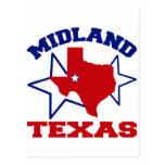 Midland, Tejas Postal