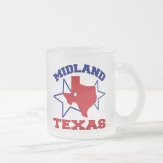 Midland, Tejas Taza De Cristal