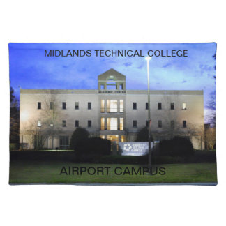 Midlands Technical College Placemat Cloth Placemat