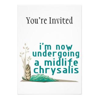 Midlife Chrysalis Invitation