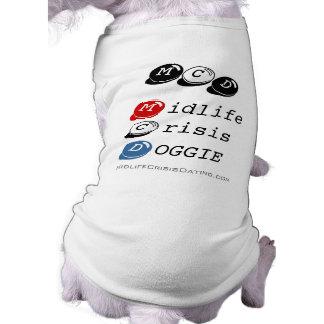 Midlife Crisis Doggie X-X-L Shirt Dog Tee Shirt