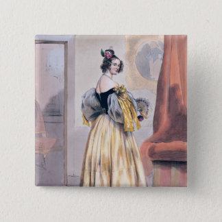 Midnight, 1830-48 button