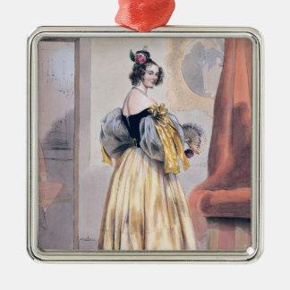 Midnight, 1830-48 metal ornament