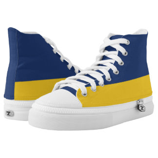 Midnight and Maize Two-Tone Hi-Top