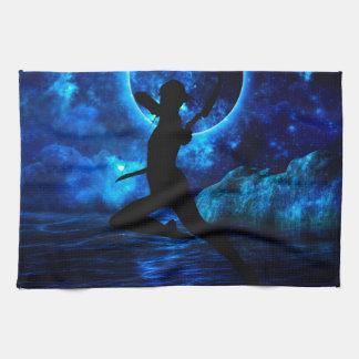 Midnight Archer Hand Towels