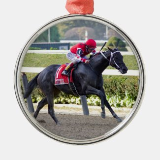 Midnight Bisou - Beldame Stakes Metal Ornament