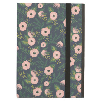 Midnight Blooms iPad Air Covers