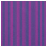 [ Thumbnail: Midnight Blue and Purple Colored Lined Pattern Fabric ]