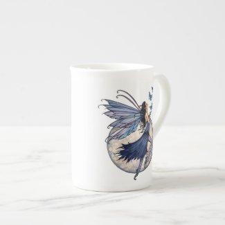 Midnight Blue Fairy Bone China Mug