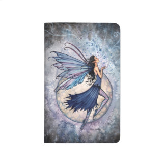 Midnight Blue Fairy Mystical Fantasy Art Journal