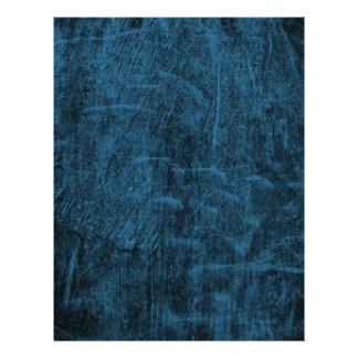 Midnight Blue Grunge Letterhead