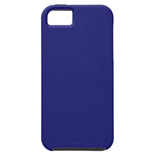 Midnight Blue iPhone 5 Cases