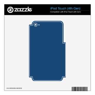 Midnight Blue iPod Touch 4G Skins