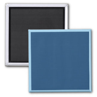 Midnight Blue 2 Inch Square Magnet