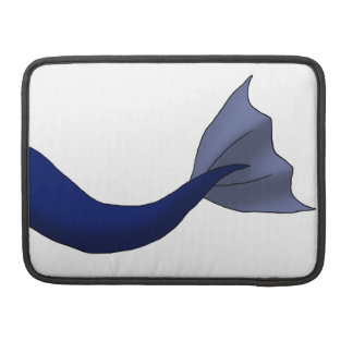 Midnight Blue Mermaid Tail Sleeve For MacBook Pro
