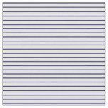 [ Thumbnail: Midnight Blue & Mint Cream Pattern Fabric ]