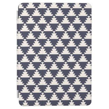 Aztec Themed Midnight Blue Modern Aztec Geometric Pattern iPad Air Cover