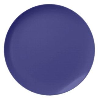 Midnight Blue Plate