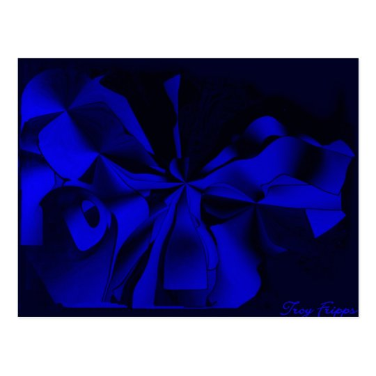Midnight Blue Postcard