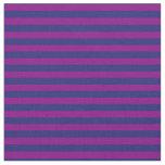 [ Thumbnail: Midnight Blue & Purple Colored Pattern Fabric ]