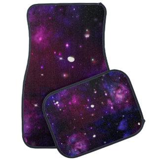 Midnight Blue Purple Galaxy Car Floor Mat