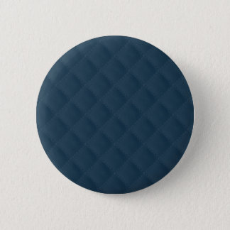 Midnight Blue Quilted Pattern Button