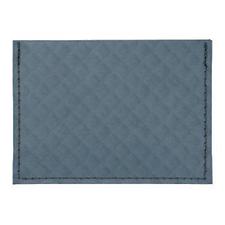 Midnight Blue Quilted Pattern Tyvek® Card Case Wallet