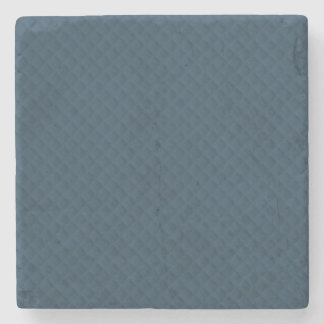 Midnight Blue Quilted Pattern Stone Coaster