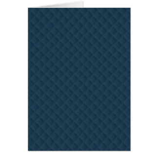 Midnight Blue Quilted Pattern Greeting Card